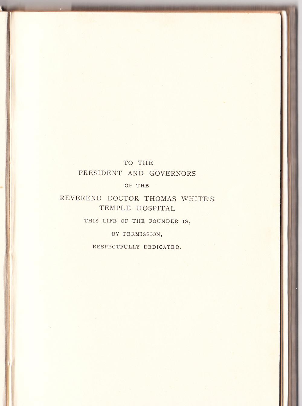 © drwhitesbristol.co.uk - book preface