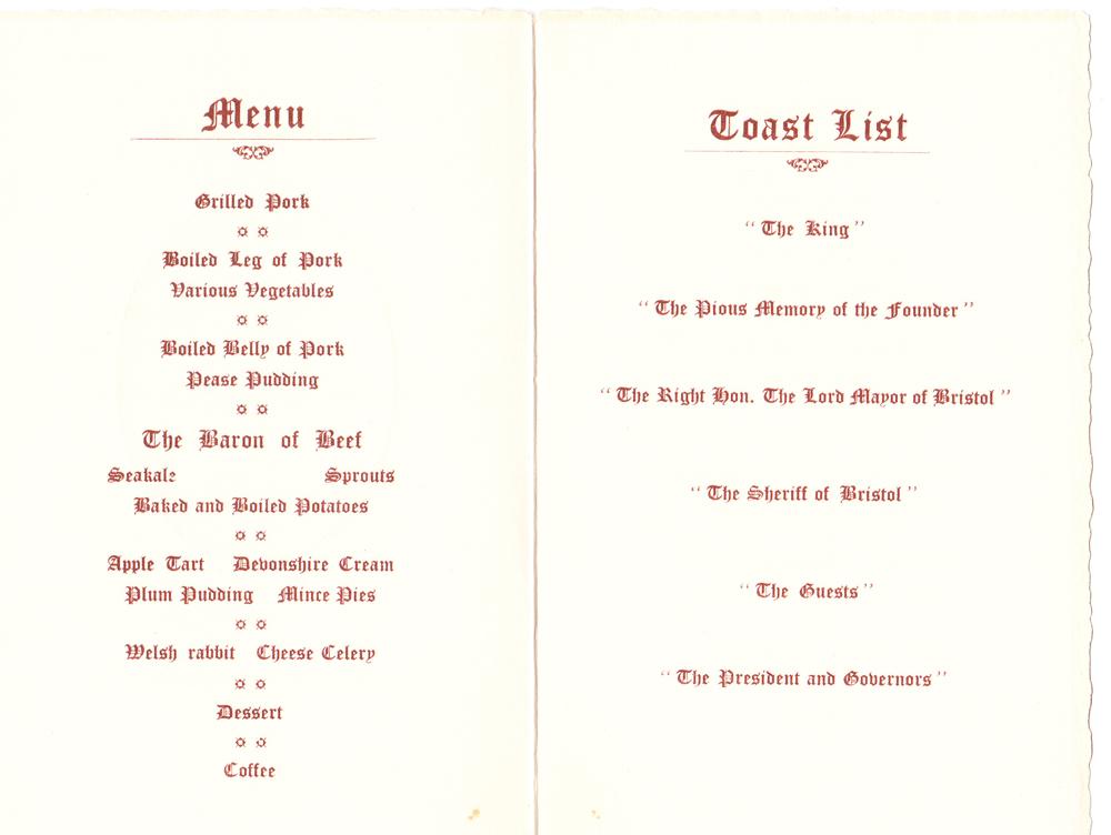 © drwhitesbristol.co.uk - menu (inside)